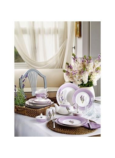 Pierre Cardin 6 Kişilk Kahvaltı Takımı Lavandin Kahvaltı Takımı Renkli